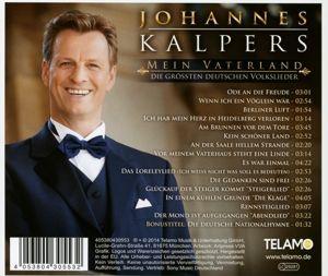 Mein Vaterland - Die größten deutschen Volkslieder, Johannes Kalpers