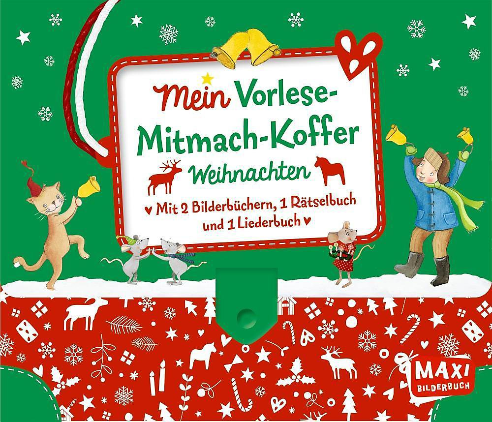 Mein Vorlese-Mitmach-Koffer. Weihnachten, 4 Bde. Buch portofrei