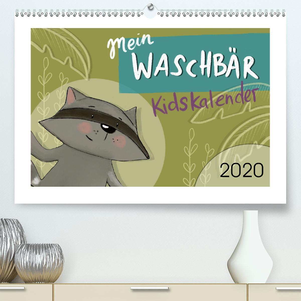 vast selection wide range info for Mein Waschbär Kidskalender Premium, hochwertiger DIN A2 ...