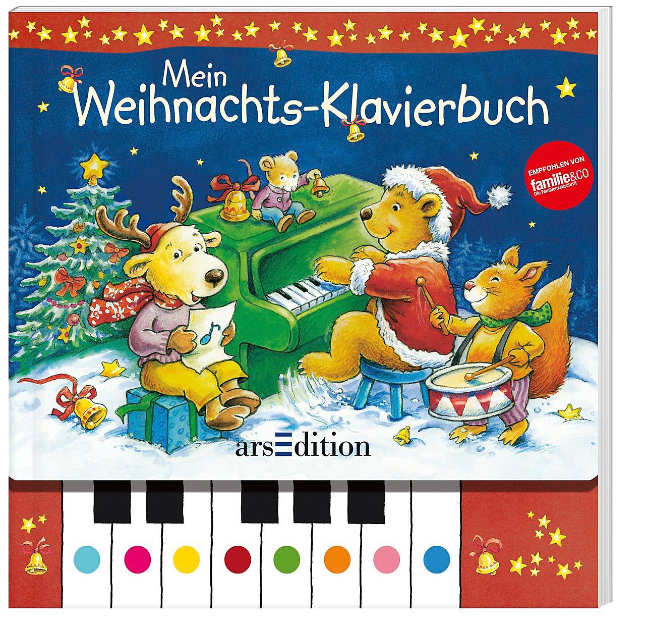 Mein Weihnachts-Klavierbuch, m. Soundeffekten Buch portofrei