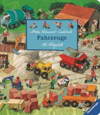 Mein Wimmel-Suchbuch Fahrzeuge, Ali Mitgutsch