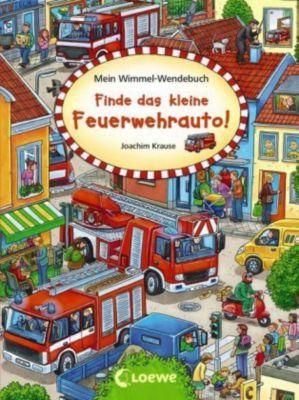 Mein Wimmel-Wendebuch - Finde das kleine Feuerwehrauto! / Finde die Piratenflagge!, Joachim Krause