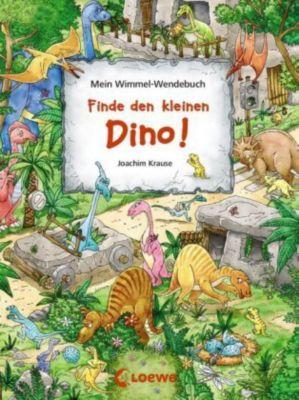 Mein Wimmel-Wendebuch - Finde den kleinen Dino! / Finde das blaue Auto! - Joachim Krause pdf epub