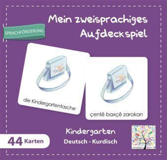 Mein zweisprachiges Aufdeckspiel, Kindergarten Deutsch-Kurdisch (Kinderspiel)