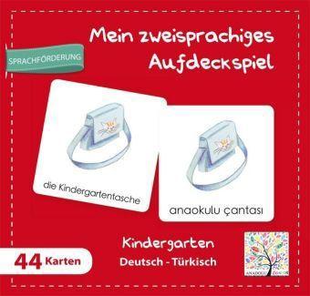 Mein Zweisprachiges Aufdeckspiell, Kindergarten Deutsch-Türkisch (Kinderspiel)