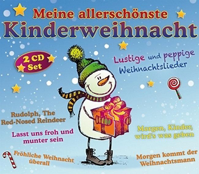Lustige Weihnachtslieder.Meine Allerschonste Kinderweihnacht Cd Von Various