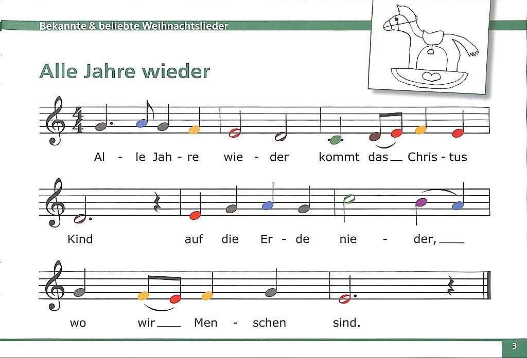 Glockenspiel Weihnachtslieder Noten Kostenlos.Meine Bunten Noten Für Das Glockenspiel Buch Weltbild De
