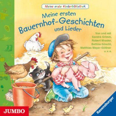 Meine erste Kinderbibliothek: Meine erste Kinderbibliothek. Meine ersten Bauernhof-Geschichten und Lieder, Sandra Grimm, Marlis Scharff-Kniemeyer