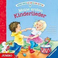 Meine erste Kinderbibliothek. Meine ersten Kinderlieder, 1 Audio-CD, Thomas Friz, Ulrich Maske