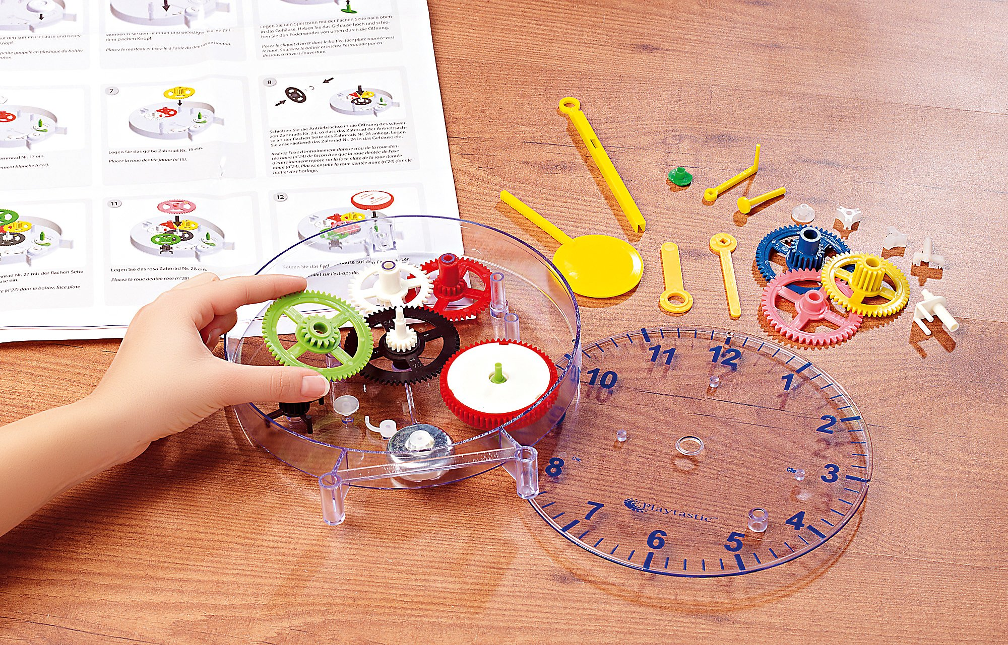 meine erste uhr: pendeluhr-bausatz für kinder | weltbild.at