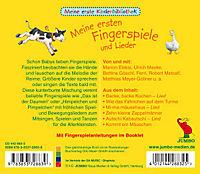 Meine Ersten Fingerspiele Und Lieder - Produktdetailbild 1