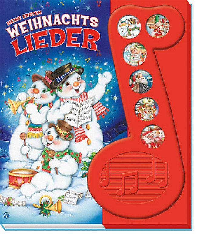 Meine ersten Weihnachtslieder, m. Soundeffekten Buch - Weltbild.de