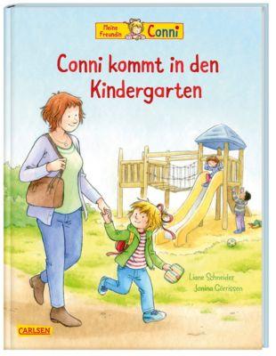 Meine Freundin Conni, Conni kommt in den Kindergarten, Liane Schneider