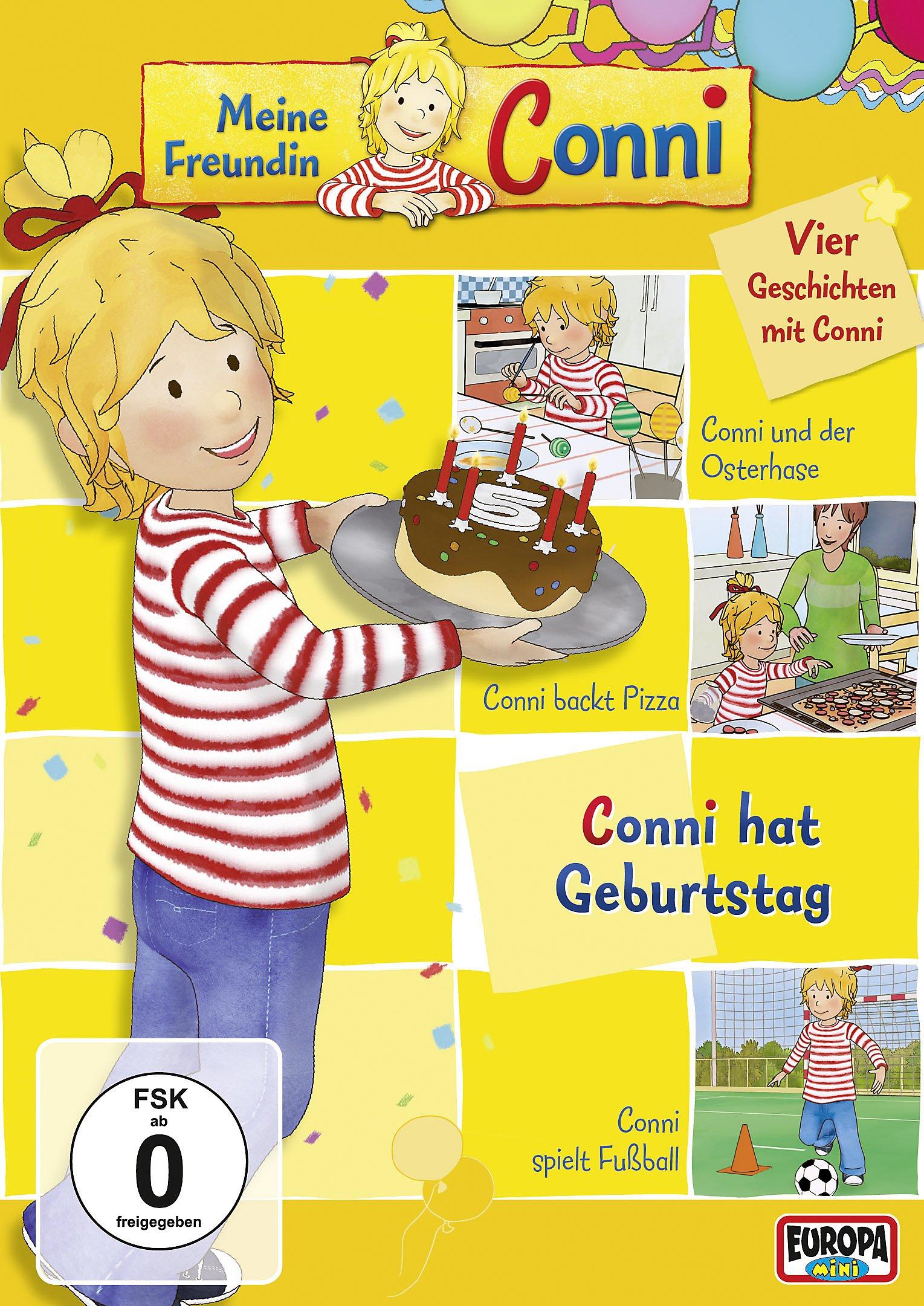 Meine Freundin Conni Vol 4 Conni Hat Geburtstag Film Weltbild Ch