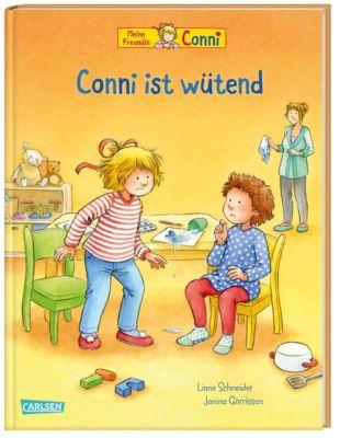 Meine Freundin Connie, Conni ist wütend, Liane Schneider