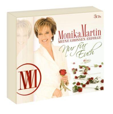 Meine großen Erfolge - Nur für euch (3 CDs), Monika Martin