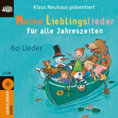 Meine Lieblingslieder für alle Jahreszeiten, 2 Audio-CDs, Klaus Neuhaus