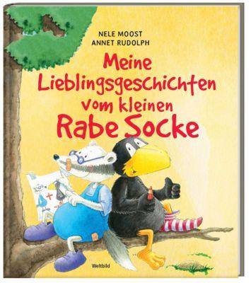 Meine liebsten Geschichten mit dem kleinen Rabe Socke, Nele Moost