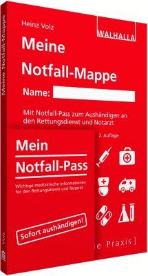 Meine Notfall-Mappe kompakt, Heinz Volz