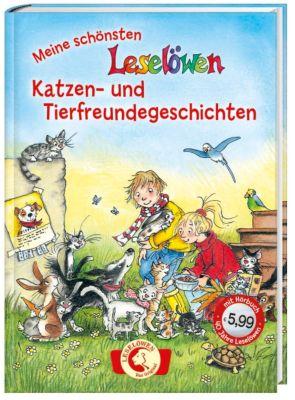 Meine schönsten Leselöwen-Katzen- und Tierfreundegeschichten, m. Audio-CD, Elisabeth Zöller, Jörg Sommer, Gerit Kopietz