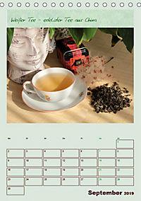 Meine Welt des Tees (Tischkalender 2019 DIN A5 hoch) - Produktdetailbild 9