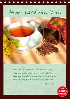 Meine Welt des Tees (Tischkalender 2019 DIN A5 hoch), Jana Thiem-Eberitsch