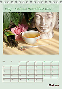 Meine Welt des Tees (Tischkalender 2019 DIN A5 hoch) - Produktdetailbild 5