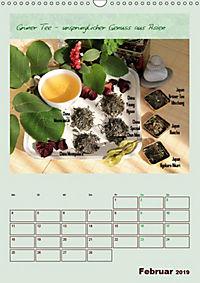Meine Welt des Tees (Wandkalender 2019 DIN A3 hoch) - Produktdetailbild 2