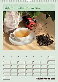 Meine Welt des Tees (Wandkalender 2019 DIN A3 hoch) - Produktdetailbild 9