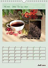 Meine Welt des Tees (Wandkalender 2019 DIN A4 hoch) - Produktdetailbild 7