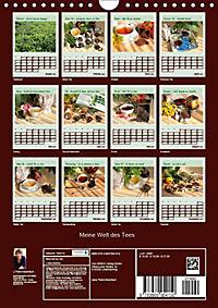 Meine Welt des Tees (Wandkalender 2019 DIN A4 hoch) - Produktdetailbild 13