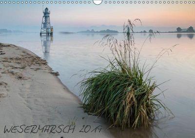Meine Wesermarsch 2019 (Wandkalender 2019 DIN A3 quer), Frank Stuke