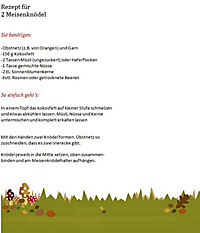 """Meisenknödelhalter """"Fliegenpilz"""" - Produktdetailbild 2"""