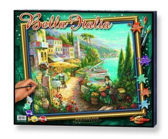 Meisterklasse Grossformat, Malen nach Zahlen (Mal-Sets): Bella Italia
