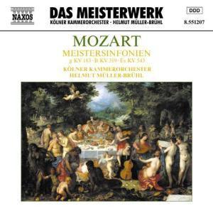 Meistersinfonien KV 183, 319 & 543, Helmut Müller-Brühl, Kölner Kammerorchester