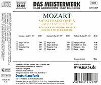 Meistersinfonien KV 183, 319 & 543 - Produktdetailbild 1