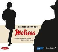 Melissa, 3 Audio-CDs, Francis Durbridge