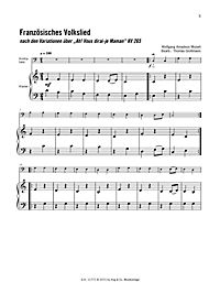 Melodien für Kontrabass von Bach bis Holst, m. Audio-CDs - Produktdetailbild 6