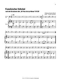Melodien für Kontrabass von Bach bis Holst, m. Audio-CDs - Produktdetailbild 4