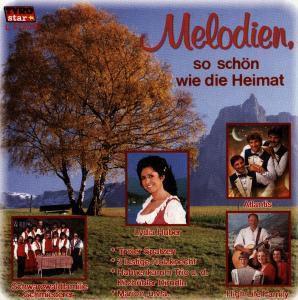 Melodien, so schön wie die Heimat, Diverse Interpreten