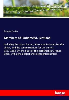 Members of Parliament, Scotland, Joseph Foster