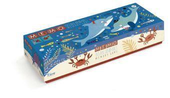 Memo - Ocean Animals (Kinderspiel)