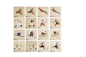 Memo - Sports (Kinderspiel)