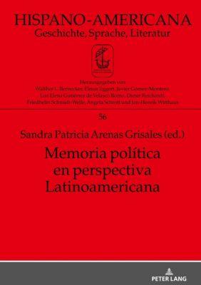 Memoria política en perspectiva Latinoamericana