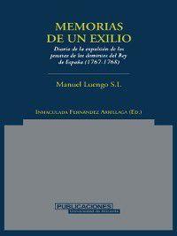 Memorias de un exilio, S. J. Manuel Luengo