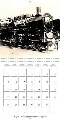 Memories of old times: Historic steam locomotives (Wall Calendar 2019 300 × 300 mm Square) - Produktdetailbild 8