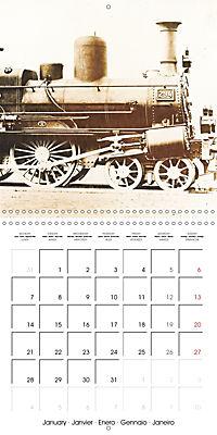 Memories of old times: Historic steam locomotives (Wall Calendar 2019 300 × 300 mm Square) - Produktdetailbild 1