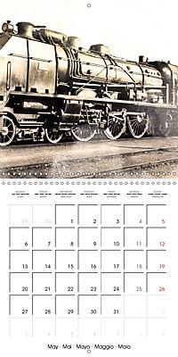 Memories of old times: Historic steam locomotives (Wall Calendar 2019 300 × 300 mm Square) - Produktdetailbild 5
