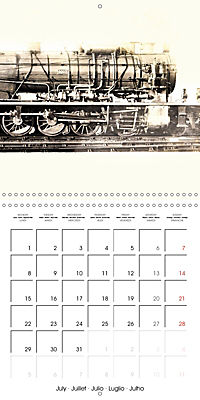Memories of old times: Historic steam locomotives (Wall Calendar 2019 300 × 300 mm Square) - Produktdetailbild 7