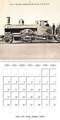 Memories of old times: Historic steam locomotives (Wall Calendar 2019 300 × 300 mm Square) - Produktdetailbild 6